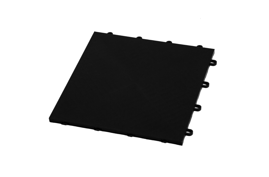 Premium Flat Top Dance Tiles - Midnight Black