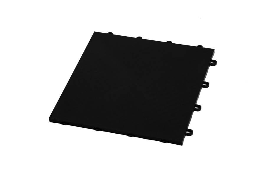 Premium Flat Top Dance Tiles - Midnight Black