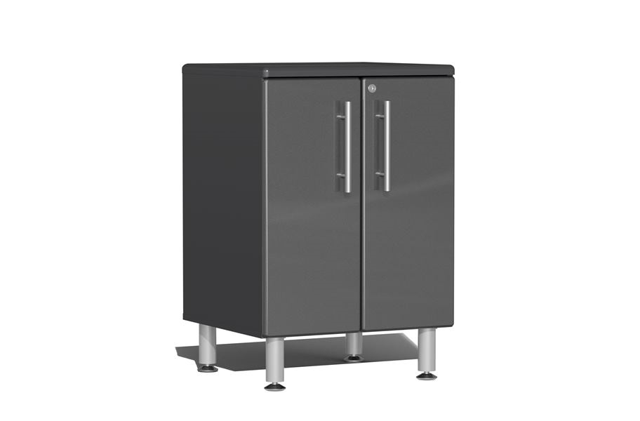 Ulti-MATE Garage 2.0 2-Door Base Cabinet - Graphite Grey Metallic