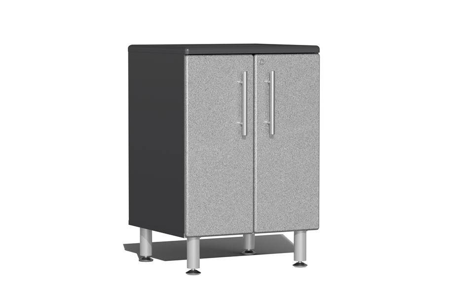Ulti-MATE Garage 2.0 2-Door Base Cabinet - Stardust Silver Metallic