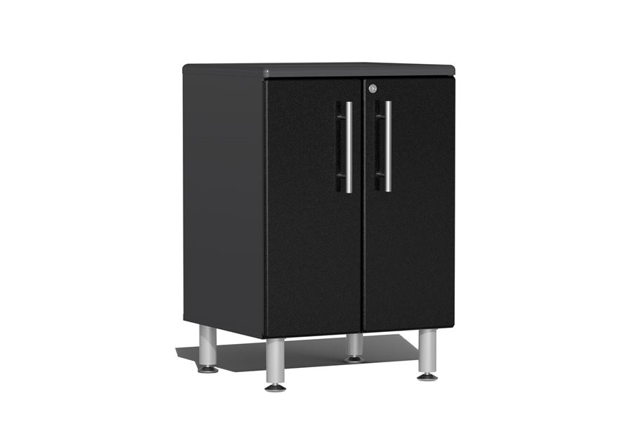 Ulti-MATE Garage 2.0 2-Door Base Cabinet - Midnight Black Metallic