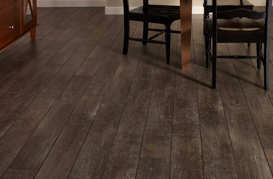 12mm Mannington Arcadia Waterproof Laminate - Smoke