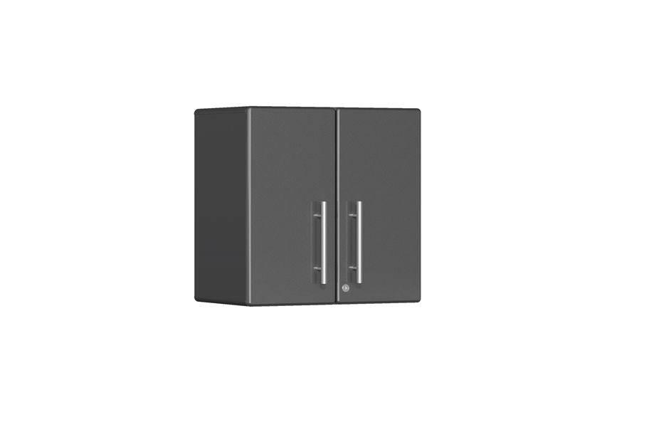 Ulti-MATE Garage 2.0 2-Door Wall Cabinet - Graphite Grey Metallic