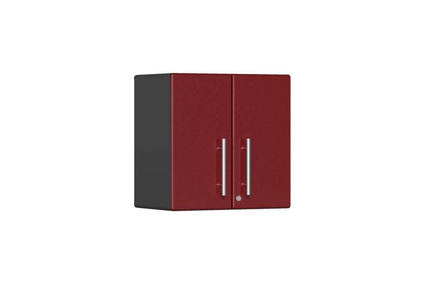 Ulti-MATE Garage 2.0 2-Door Wall Cabinet - Ruby Red Metallic