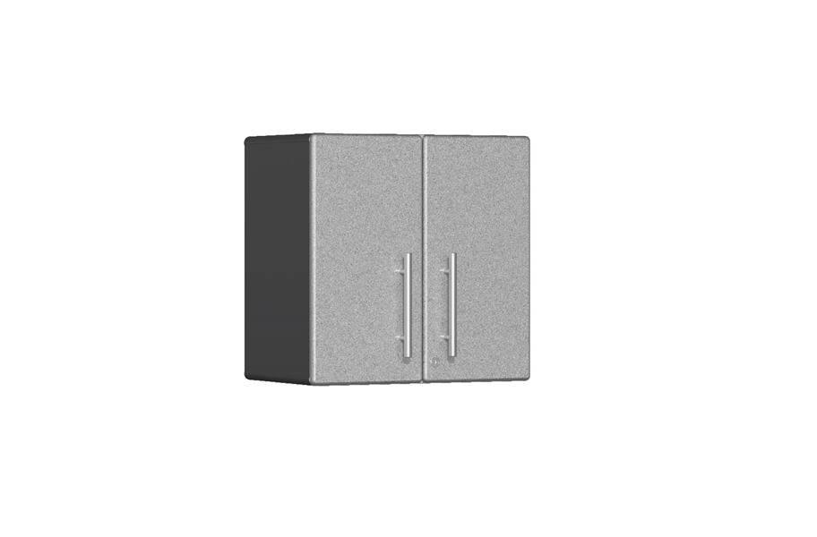 Ulti-MATE Garage 2.0 2-Door Wall Cabinet - Stardust Silver Metallic