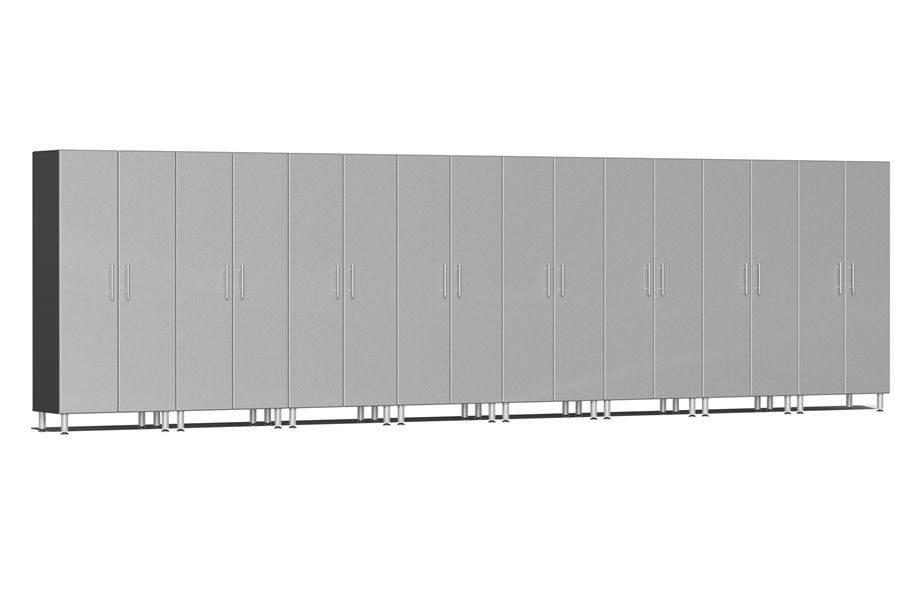 Ulti-MATE Garage 2.0 8-PC Tall Cabinet Kit - Stardust Silver Metallic