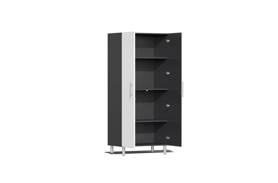 Ulti-MATE Garage 2.0 10-PC Kit w/ Recessed Worktop - Starfire White Metallic