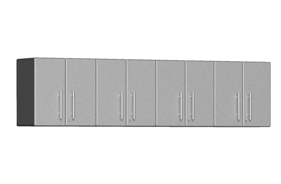 Ulti-MATE Garage 2.0 Series 4-PC Wall Cabinet Kit  - Stardust Silver Metallic