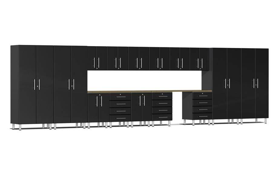Ulti-MATE Garage 2.0 17-PC Super-System - Midnight Black Metallic