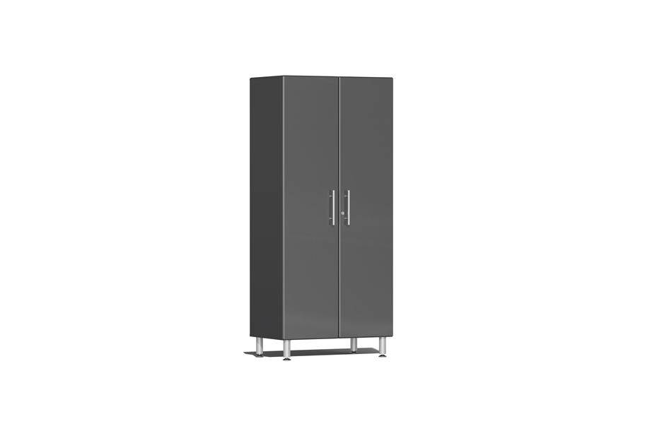 Ulti-MATE Garage 2.0 Series 2-Door Tall Cabinet - Graphite Grey Metallic