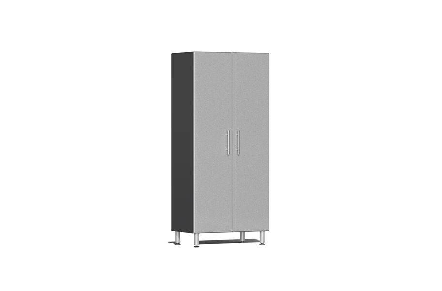 Ulti-MATE Garage 2.0 Series 2-Door Tall Cabinet - Stardust Silver Metallic