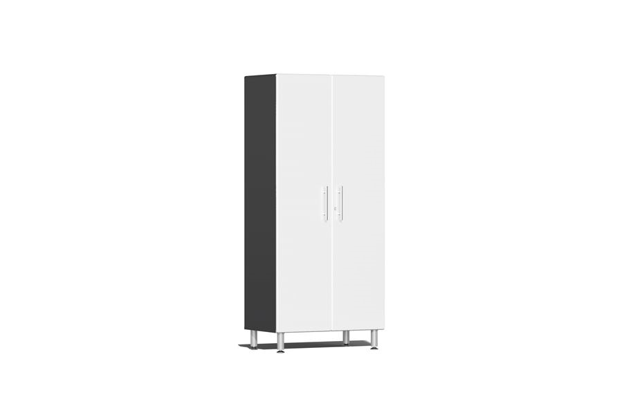 Ulti-MATE Garage 2.0 Series 2-Door Tall Cabinet - Starfire White Metallic