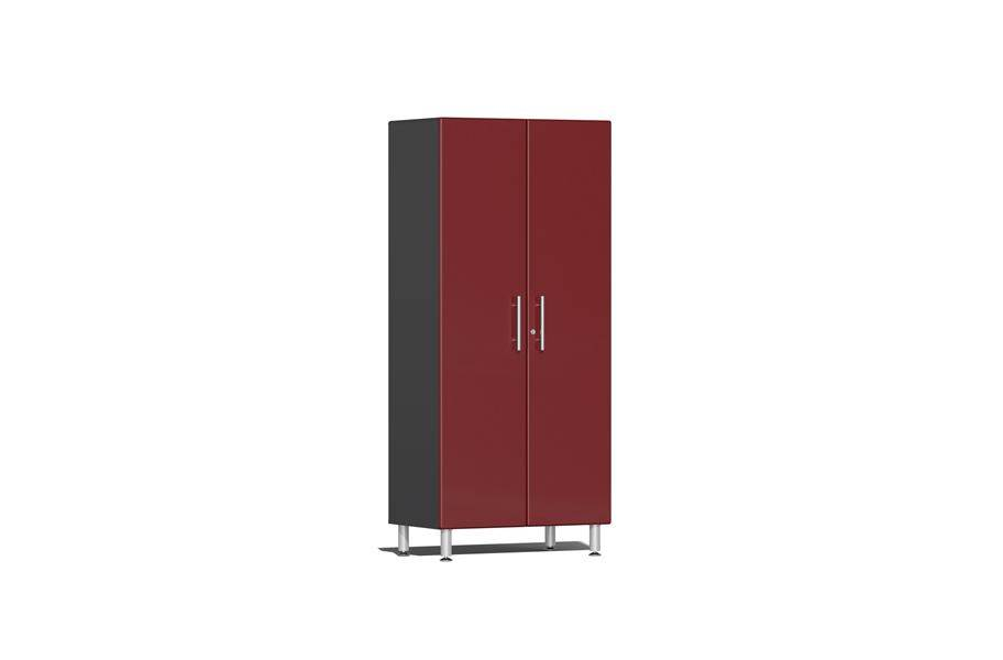 Ulti-MATE Garage 2.0 Series 2-Door Tall Cabinet - Ruby Red Metallic