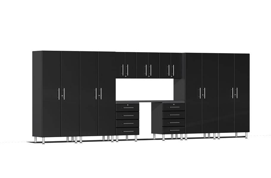 Ulti-MATE Garage 2.0 Series 10-PC Kit - Midnight Black Metallic