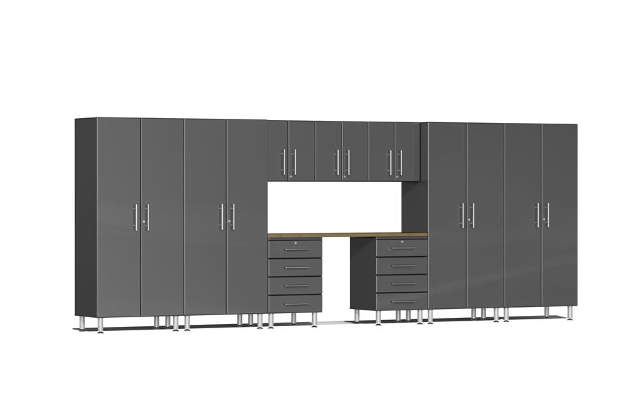 Ulti-MATE Garage 2.0 Series 10-PC Kit - Graphite Grey Metallic