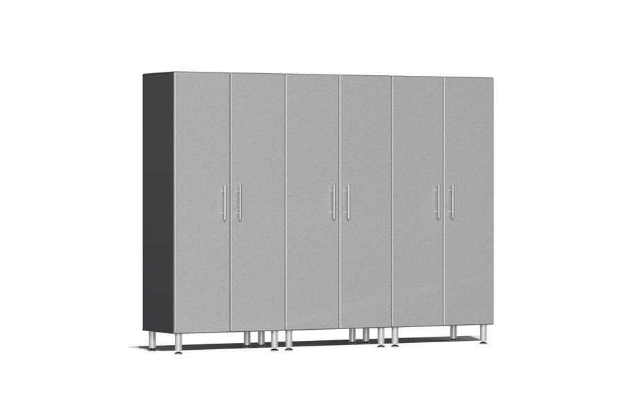 Ulti-MATE Garage 2.0 Series 3-PC Tall Cabinet Kit - Stardust Silver Metallic
