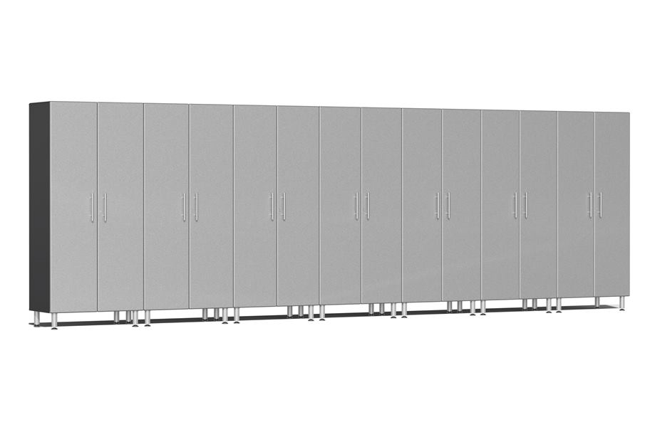 Ulti-MATE Garage 2.0 Series 7-PC Tall Cabinet Kit - Stardust Silver Metallic
