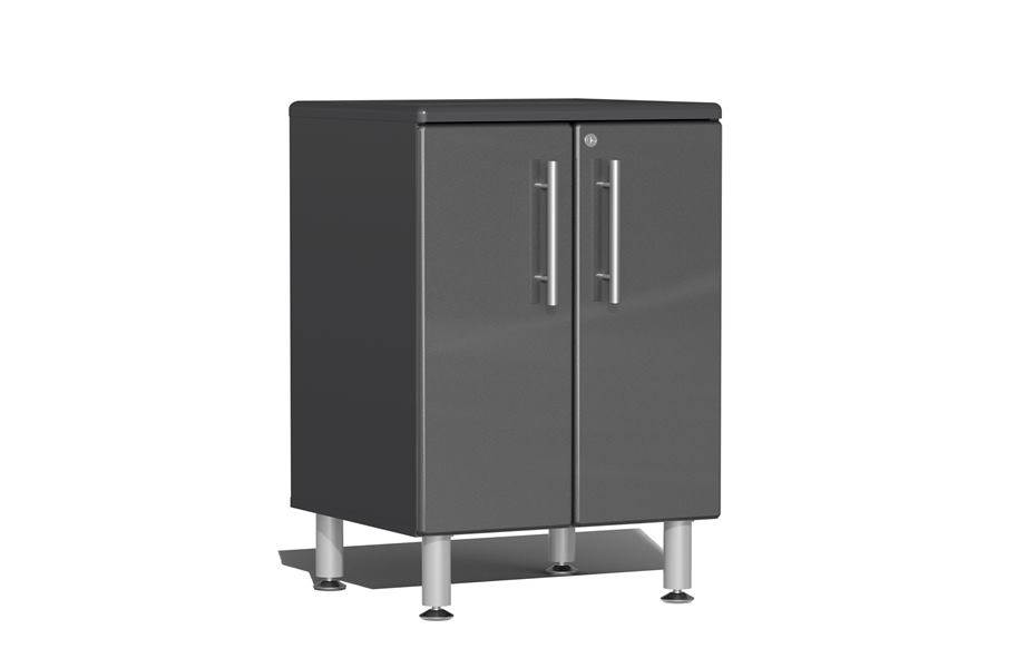 Ulti-MATE Garage 2.0 Series 2-Door Base Cabinet - Graphite Grey Metallic
