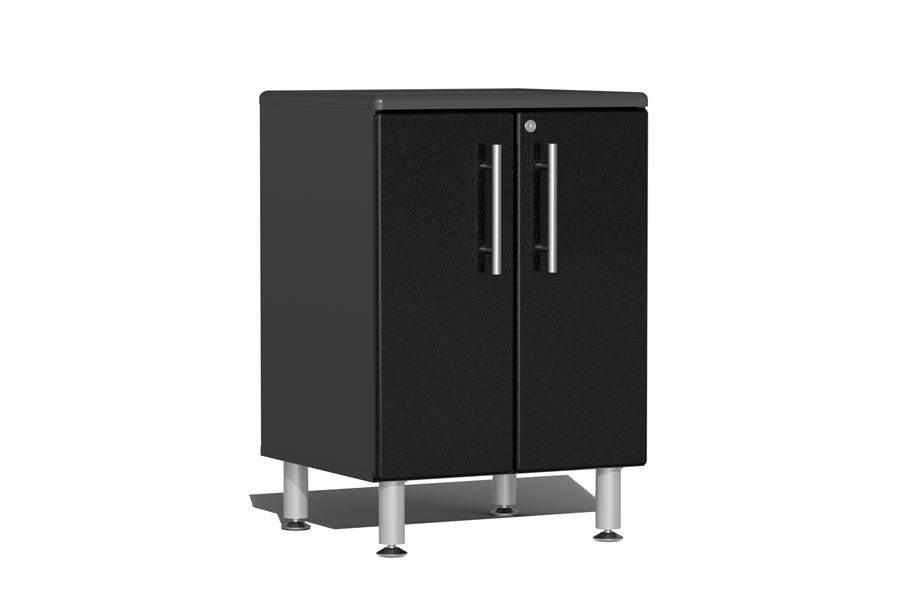 Ulti-MATE Garage 2.0 Series 2-Door Base Cabinet - Midnight Black Metallic