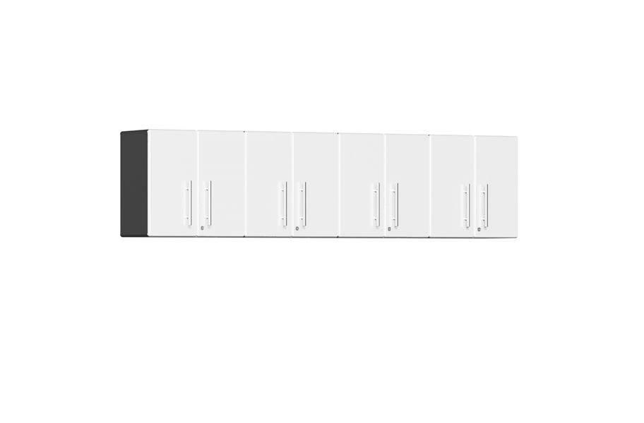 Ulti-MATE Garage 2.0 Series 4-PC Wall Cabinet Kit  - Starfire White Metallic