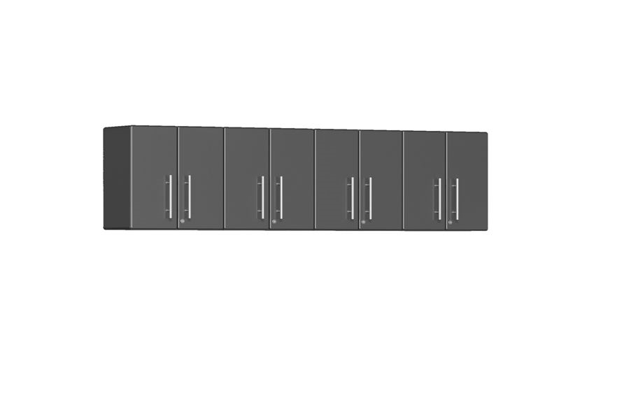Ulti-MATE Garage 2.0 Series 4-PC Wall Cabinet Kit  - Graphite Grey Metallic