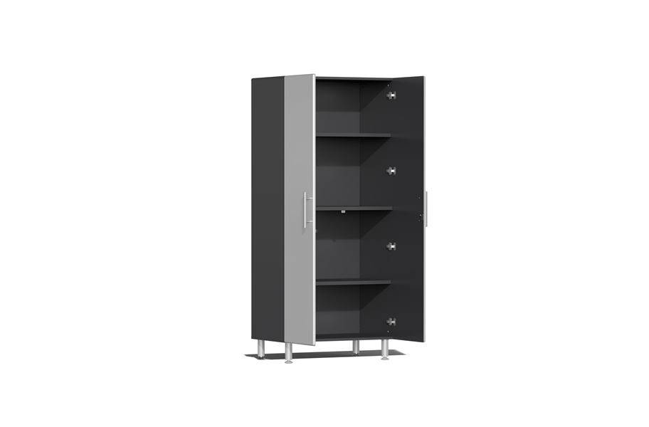Ulti-MATE Garage 2.0 Series 2-PC Tall Cabinet Kit - Stardust Silver Metallic