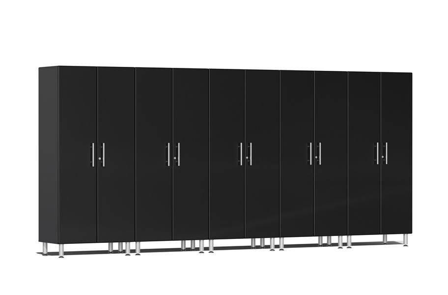 Ulti-MATE Garage 2.0 Series 5-PC Tall Cabinet Kit - Midnight Black Metallic