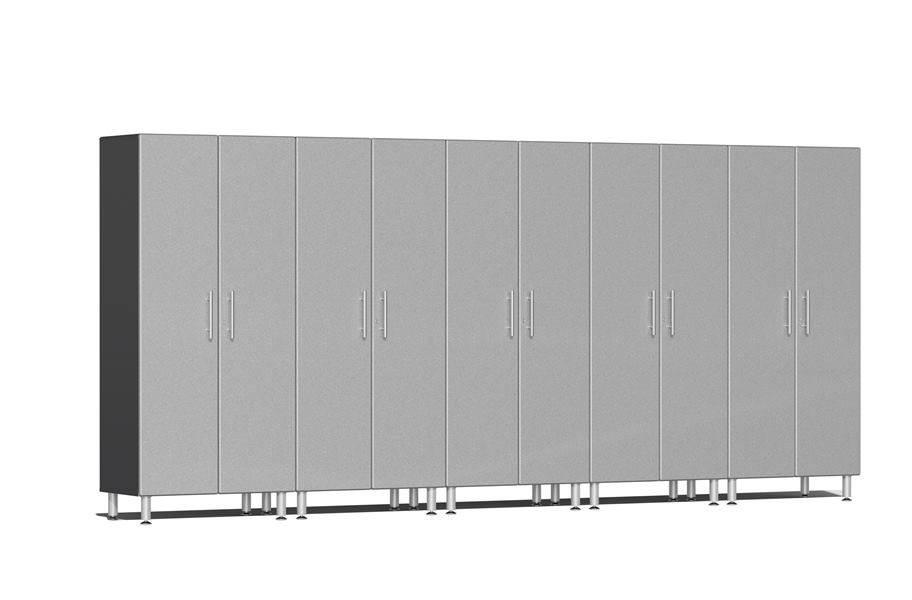 Ulti-MATE Garage 2.0 Series 5-PC Tall Cabinet Kit - Stardust Silver Metallic