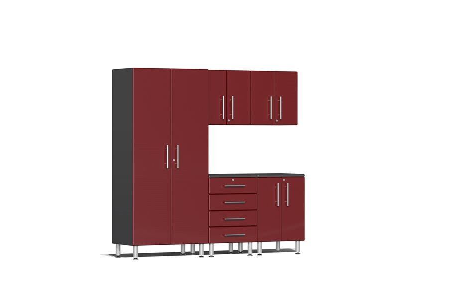 Ulti-MATE Garage 2.0 Series 5-PC Kit - Ruby Red Metallic