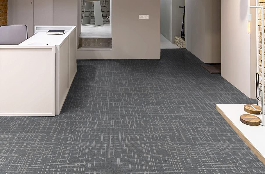 Phenix Focal Point Carpet Tile - Luster