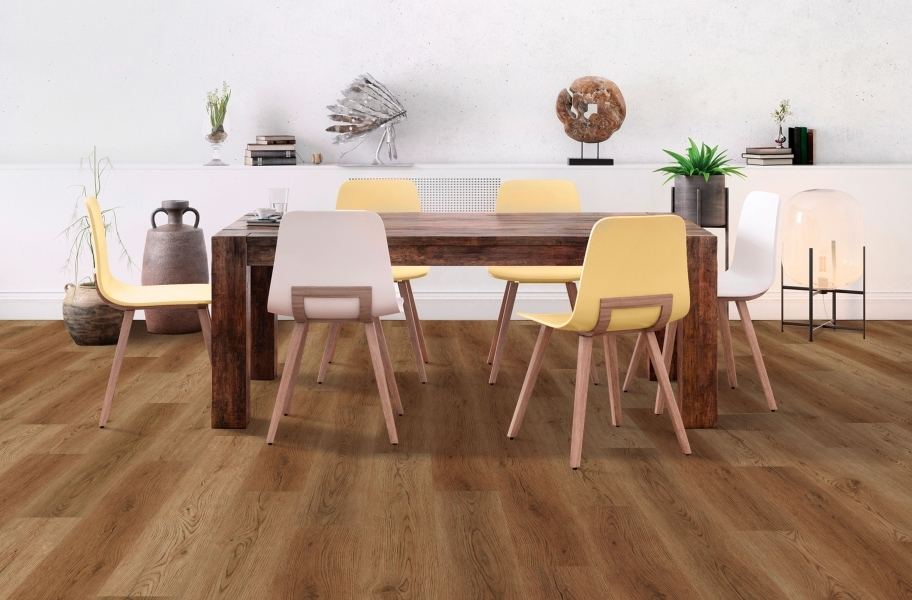 "COREtec Galaxy Plus 7"" Rigid Core Vinyl Planks - Centaurus Oak"