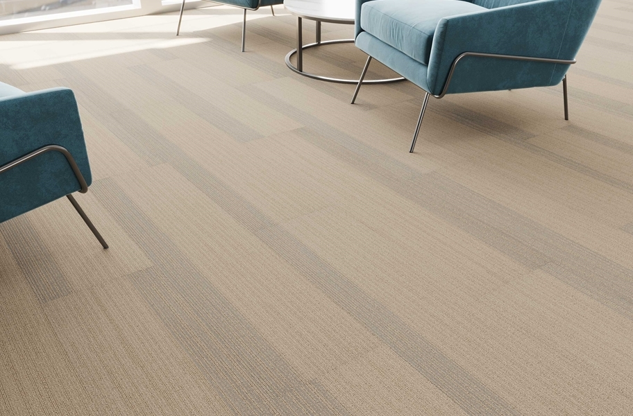 Pentz Cliffhanger Carpet Planks - Trigo