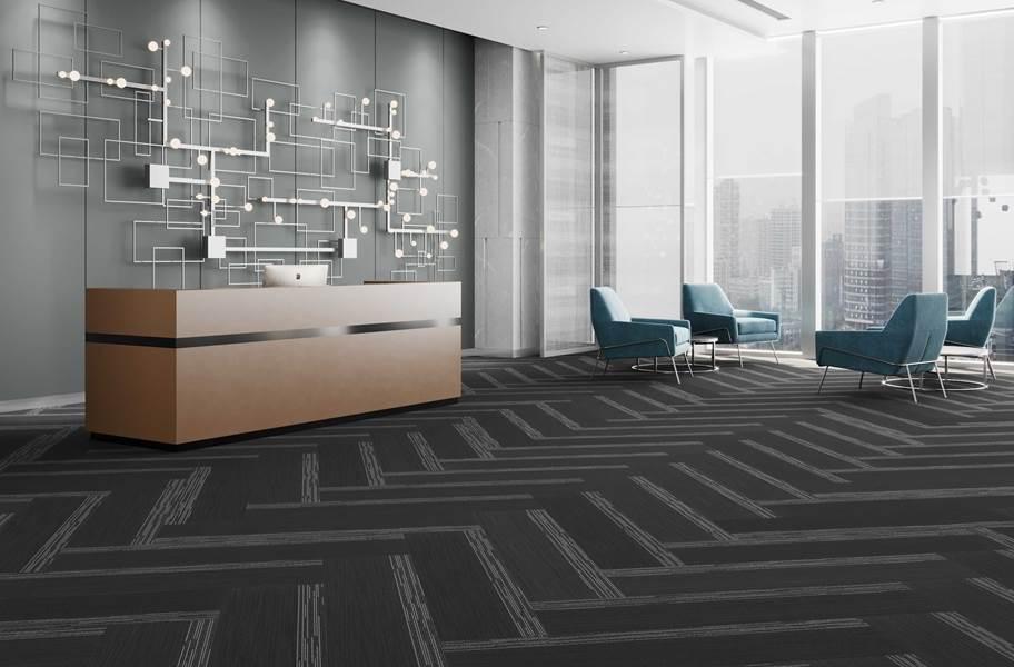 Pentz Cliffhanger Carpet Planks - Black Hills