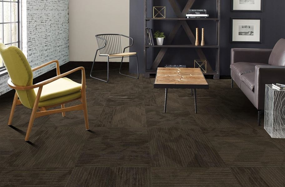 Shaw Declare Carpet Tile - Coverage