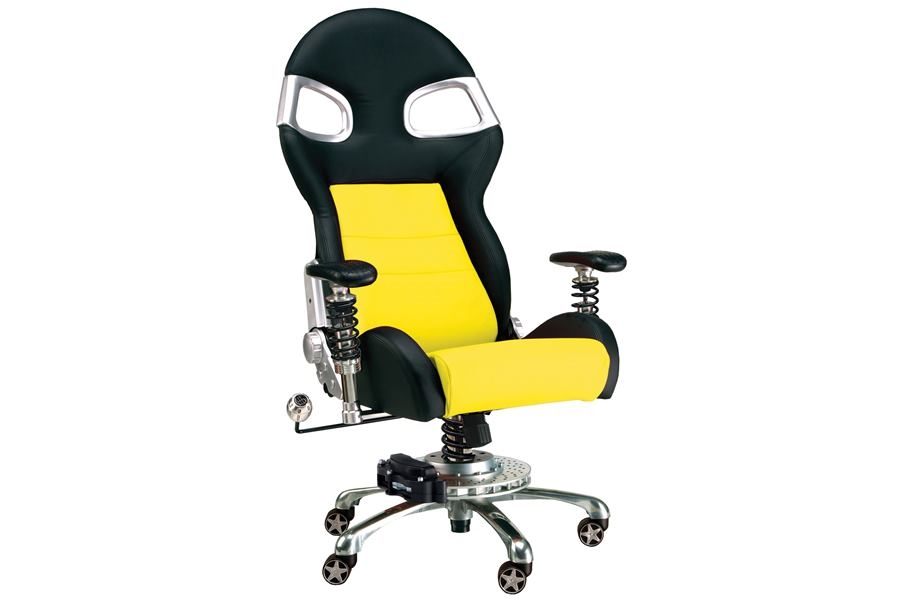 PitStop LXE Office Chair - Yellow