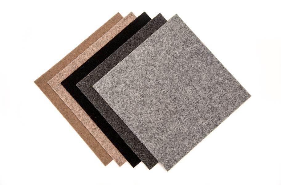 Legacy Carpet Tiles - Overstock - Bark