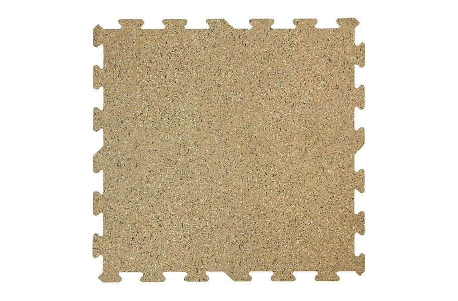 8mm Designer Series Rubber Tiles - Coffee Creek