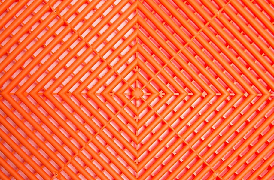 Swisstrax Garage Tiles - Tropical Orange