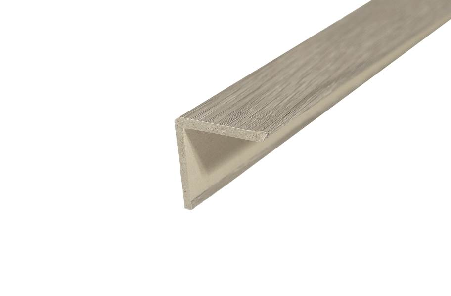"TritonCORE 1"" x 1"" x 94"" Staircap - Harbor Grey Oak"