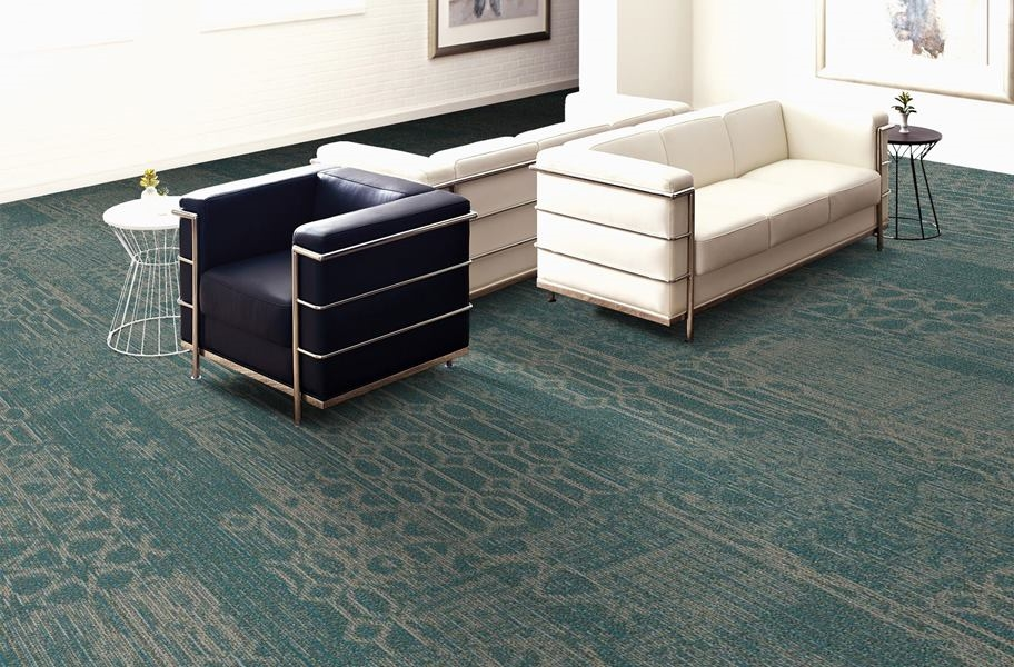 Shaw Medley Carpet Planks - Tempo