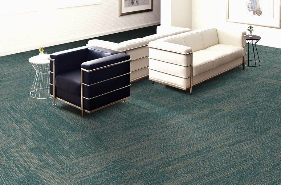 Shaw Rhythm Carpet Planks - Tempo