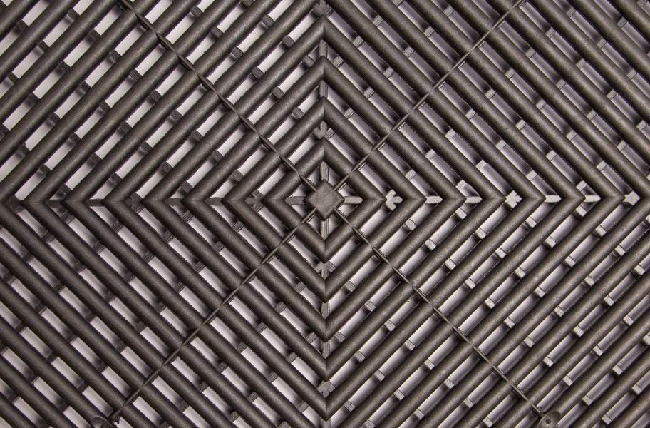 Swisstrax Garage Tiles - Jet Black
