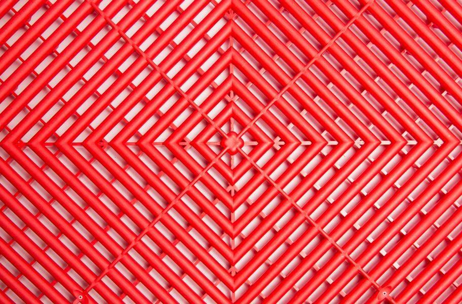 Swisstrax Garage Tiles - Racing Red