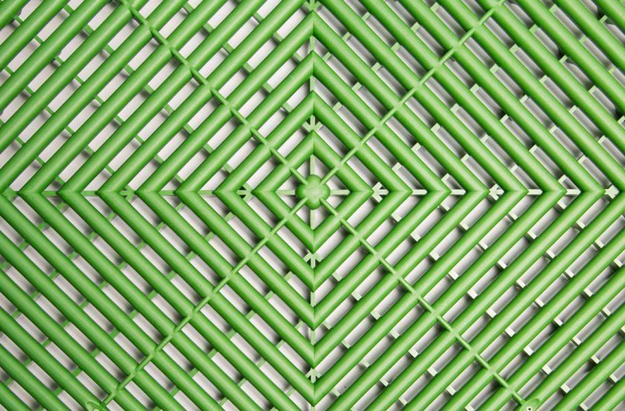 Swisstrax Garage Tiles - Turf Green