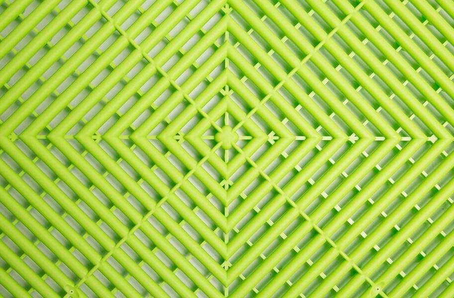 Swisstrax Garage Tiles - Techno Green