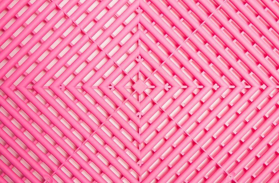 Swisstrax Garage Tiles - Carnival Pink