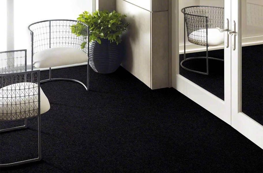 Floorigami Plume Perfect Carpet Tile - Raven