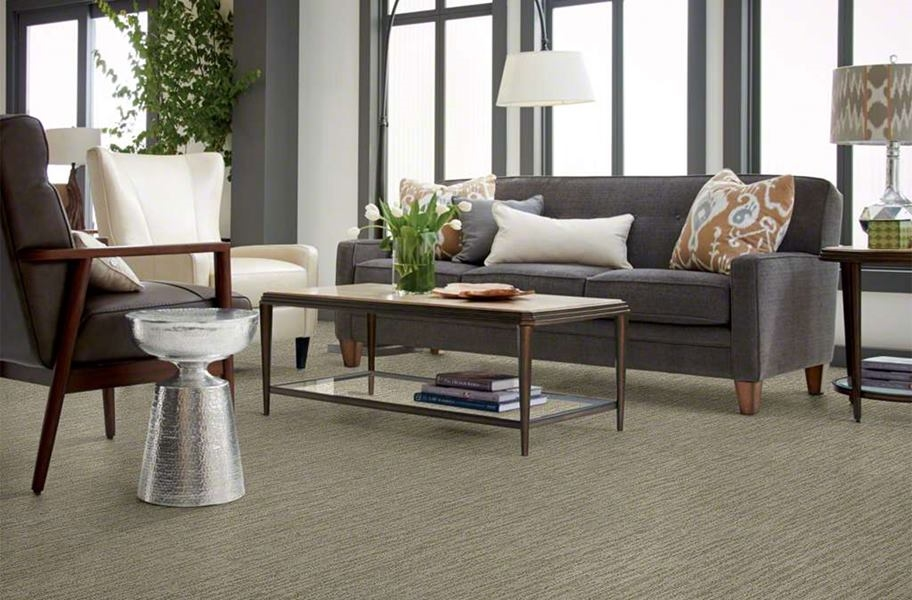 Shaw Floorigami Dynamic Vision Carpet Plank - Cubicle