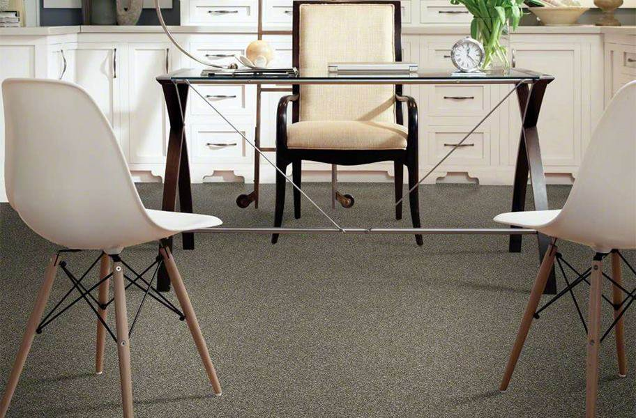 Shaw Floorigami Midnight Snack Carpet Tile - Cookies and Cream