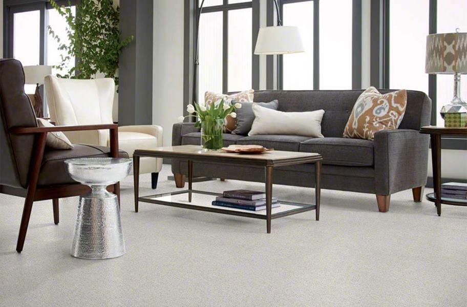 Floorigami Plume Perfect Carpet Tile - Feather Grey